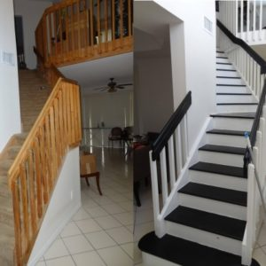 Staircase Railing Remodel