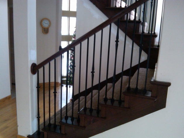 Staircase Railing Remodel Design Ideas Images 95