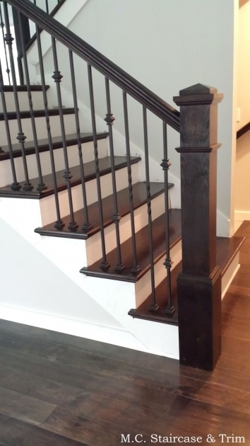 Staircase Railing Remodel Ideas About Banister Pictures 36