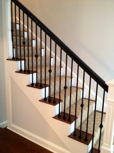 Staircase Railing Remodel Iron Balusters Photos 82
