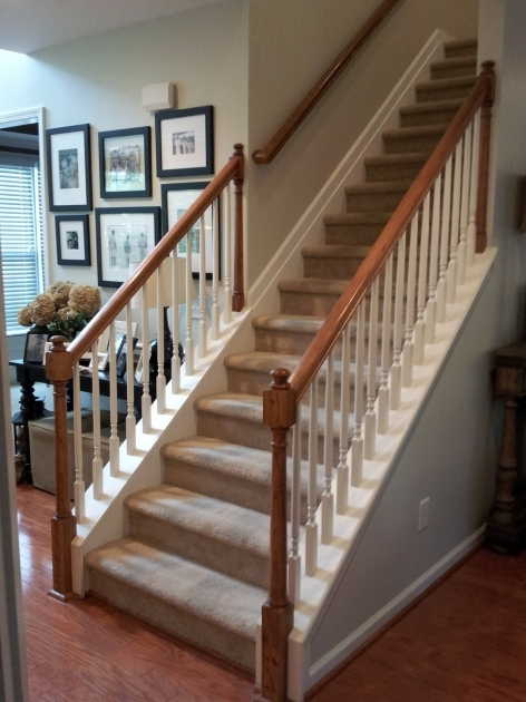 Staircase Railing Remodel Southern Grace Pics 89