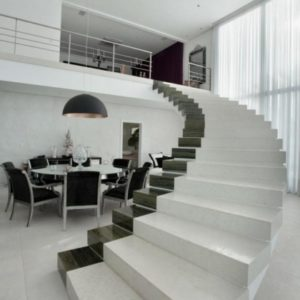 Stairs Without Railing