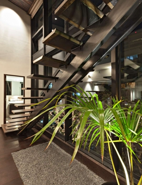 Stairs Without Railing Villa In The Sky On Architizer Image 24