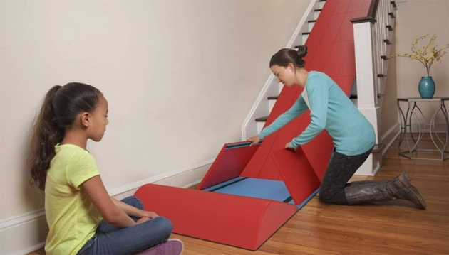The Sliderider Foldable Slide For Stairs Homes And Hues Photo 57