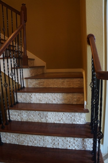 Tiling Stairs Edge Ideas Stair Risers Tile Pictures 43
