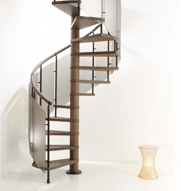 Tiny House Spiral Staircase For Small Home Pictures 29