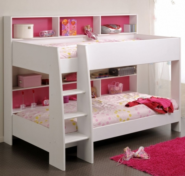 Toddler Bunk Beds With Stairs For Girls Bedroom Photo 45