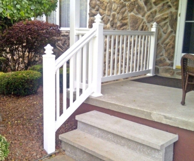Vinyl Porch Railing Deck Railing Designs Vinyl Stair Railing Kits Images 10