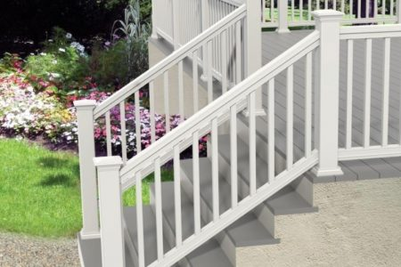 Vinyl Stair Railing Kits