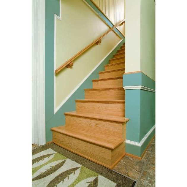 Wood Stair Tread Kit Reclaimed Home Interior Staircase Decoration Image 62