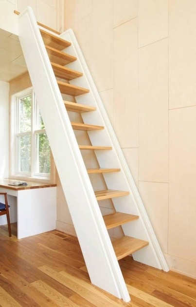 Attic Staircase Ideas Ladder  Photo 75