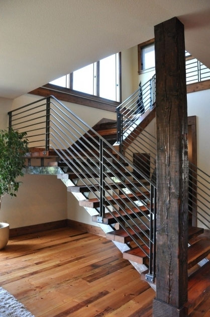 Modern Stair Rails Ideas Pictures 42