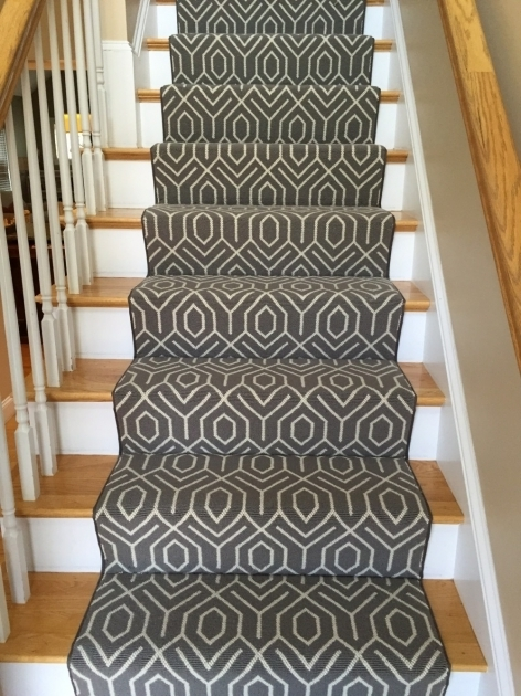 Black And White Carpet Runners For Stairs Picture 50