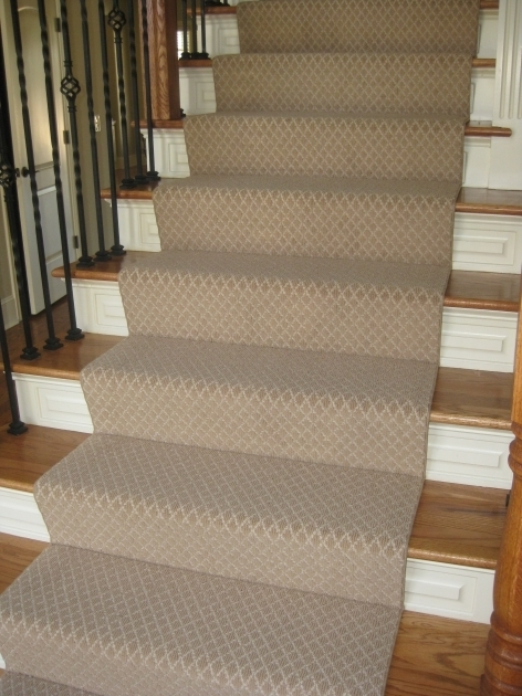 Carpeting Stairs With Spindles On Hardwood Stairs Solution Photo 05