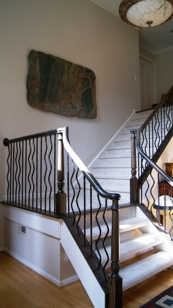 Custom Iron Balusters Stairs Atlanta Photos 11