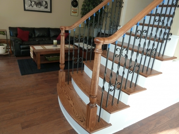 Custom Iron Balusters Stairs Houston Pictures 76