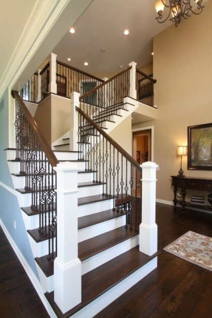 Iron Balusters Stairs Railing Photos 65