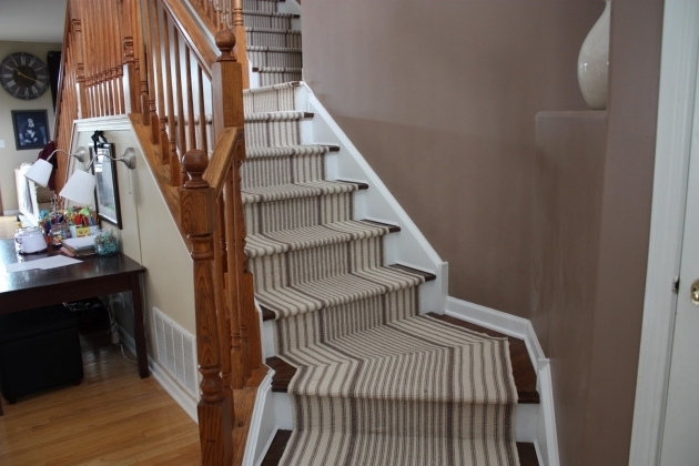 White And Gray Carpet Runners For Stairs Photo 89