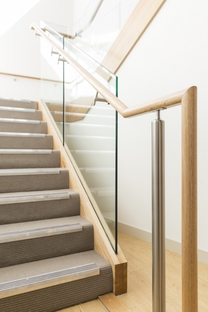 Commercial Non Slip Treads Tasmanian Oak Handrails For Stairs Interior Image 20