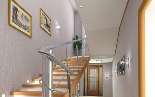 Handrails For Stairs Interior Home Decor Photo 56