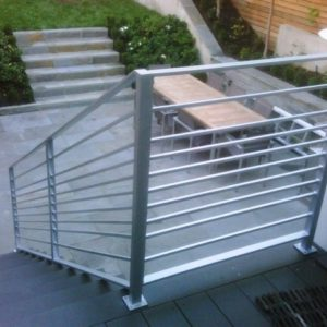 Metal Handrails for Stairs