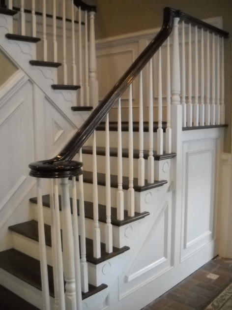 Rod Iron Stair Railing Handrails For Stairs Interior Photos 20