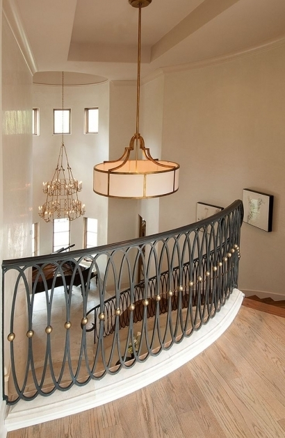 Staircase Railing Design Wrought Iron Stair Railing Handrails For Stairs Interior Pic 14