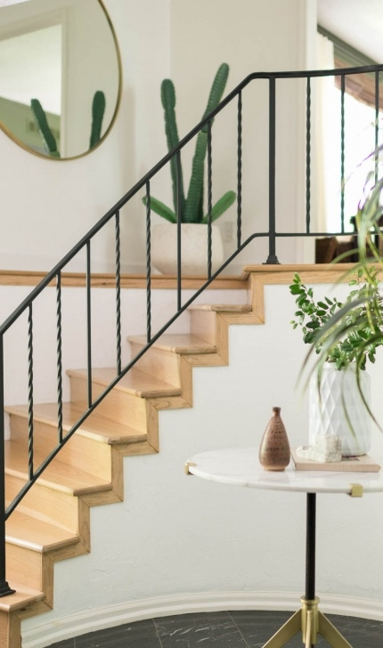 Painting Stair Railing Ideas How Do You Paint Wrought Iron Railings