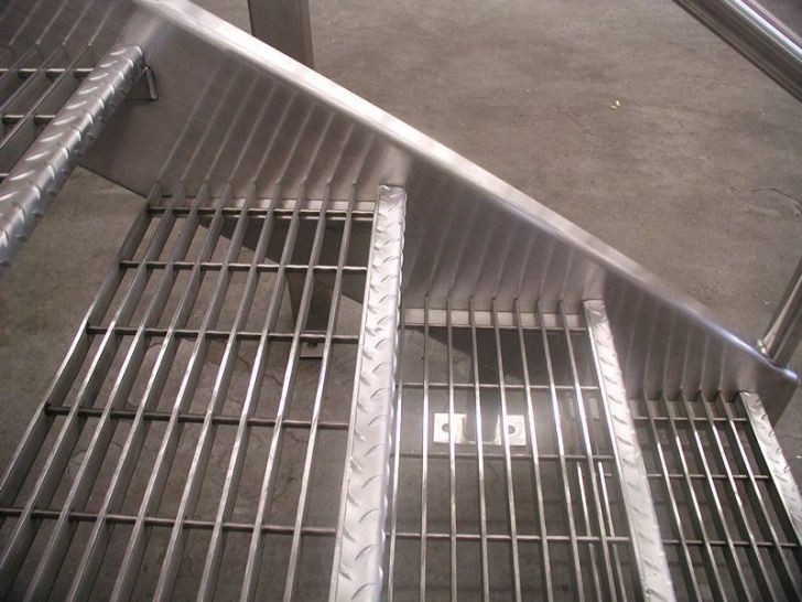 Aluminum Stair Tread Covers Ideas Images 29 Swaged Grating – Cross Bar Insert Pre-Punched Hole Of Picture 229