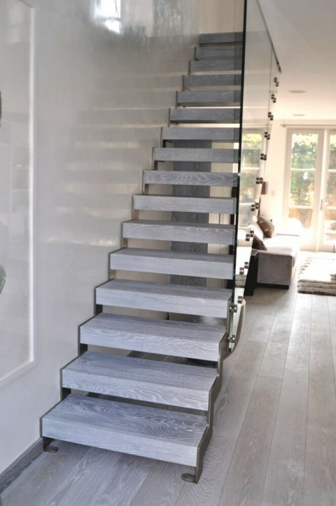 Brackets For Floating Stairs Bespoke Glass Staircase Design Service Zig Zag Flight Photo 766