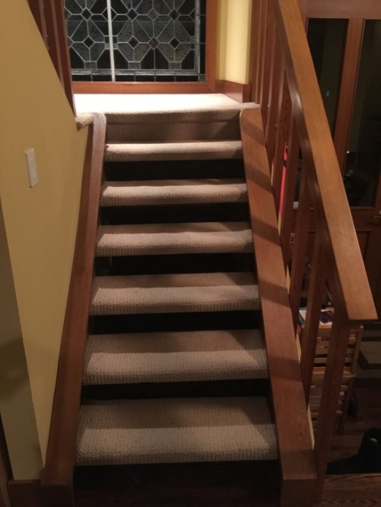 Can I Take Up And Replace Balusters On Carpet Stairs How Should I Redo Carpeted Open Riser (Riser-Less) Stairs Photo 256