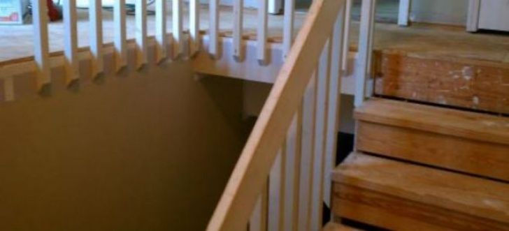 Can I Take Up And Replace Balusters On Carpet Stairs How To Install Wooden Stair Treads | Doityourself Photo 790