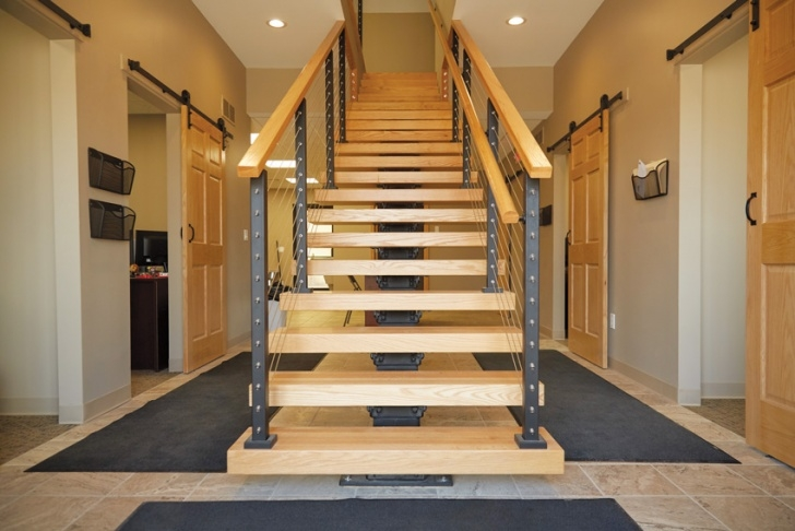 Floating Staircase Brackets Ce Center - The Beautiful, Modern, Budget-Friendly Image 079