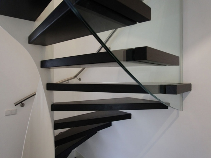 Floating Staircase Brackets Retractable Stairs Design, Deck Stair Tread Brackets Photo 673