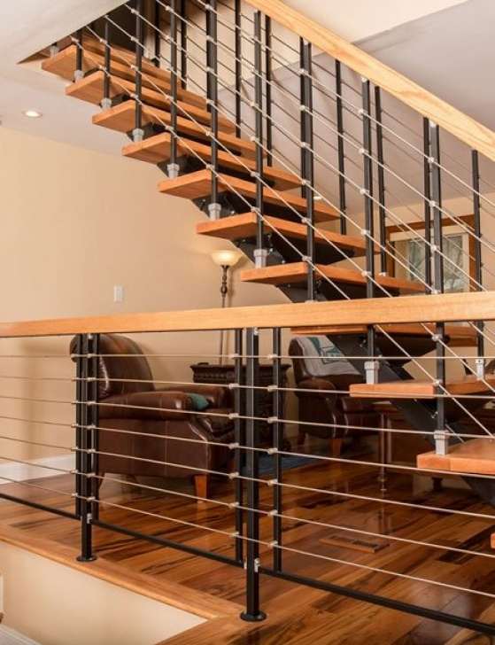 Floating Staircase Kits Metal Spiral Staircase Photo Gallery | The Iron Shop Image 647