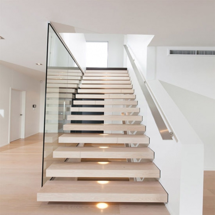 Floating Stairs Kit China Grand Staircase Floating Stairs Cable Stair Railing Photo 731