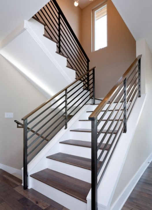 Floor To Ceiling Stair Rail Designs Modern Handrail Designs That Make The Staircase Stand Out Photo 374
