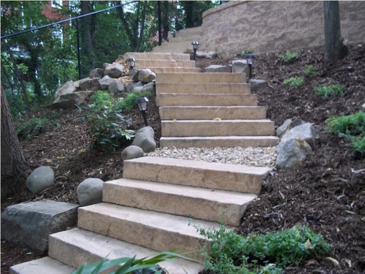 Hillside Stair Ideas Stairs On A Hill | Tyres2C Picture 866