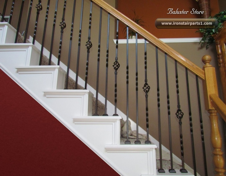 How To Change Stairway Spindles High Quality Powder Coated Iron Balusters Picture 409