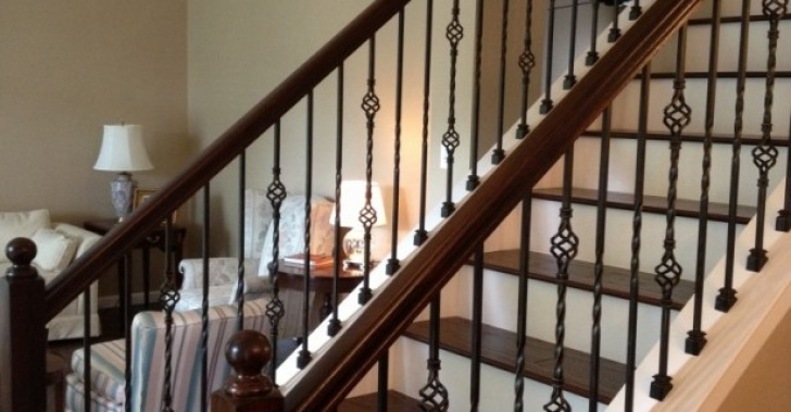 How To Replace Stair Spindle Replacing Stair Banisters And Railings | Joy Studio Design Photo 754