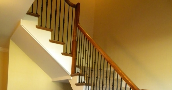 How To Replace Stair Spindle Wood Stairs And Rails And Iron Balusters: How To Replace Picture 217