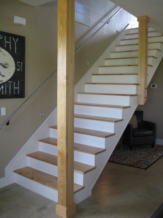 Opening Up A Staircase Before And After Farmhouse Photo 175