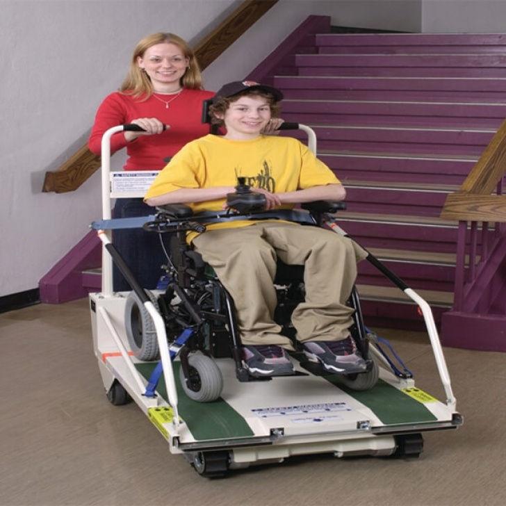 Portable Stairlift Super-Trac Portable Wheelchair Lift Picture 502