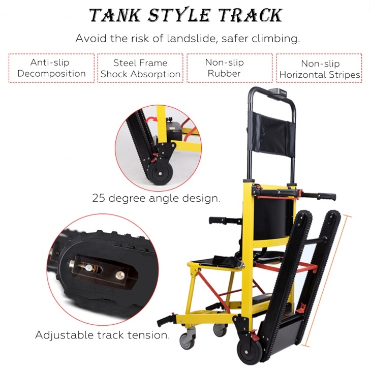 Portable Stairlift Wheelchair Lift Portable Stair Lifting Motorized Climbing Picture 281