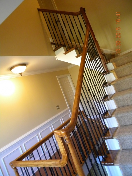 Replace Spindles On Stairs Wood Stairs And Rails And Iron Balusters: How To Replace Image 379
