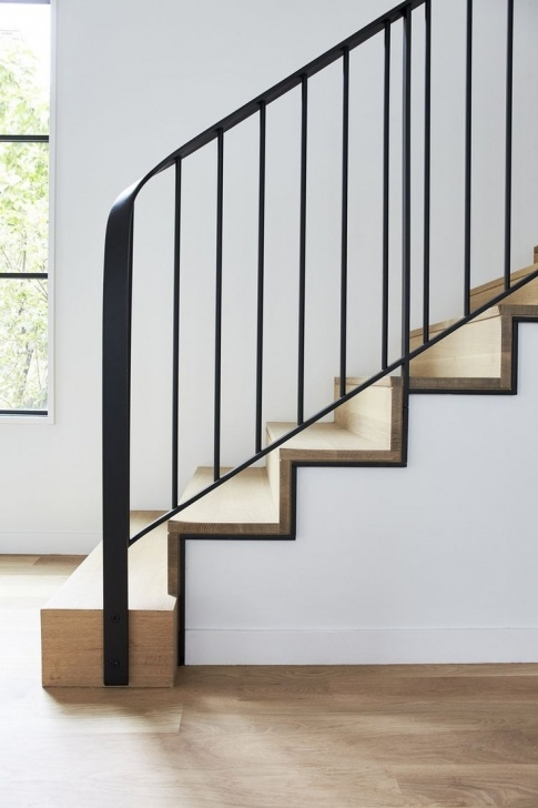 Simple Staircase Designs Simple And Sleek Stairs With Black Outline Detail | Stairs Image 620