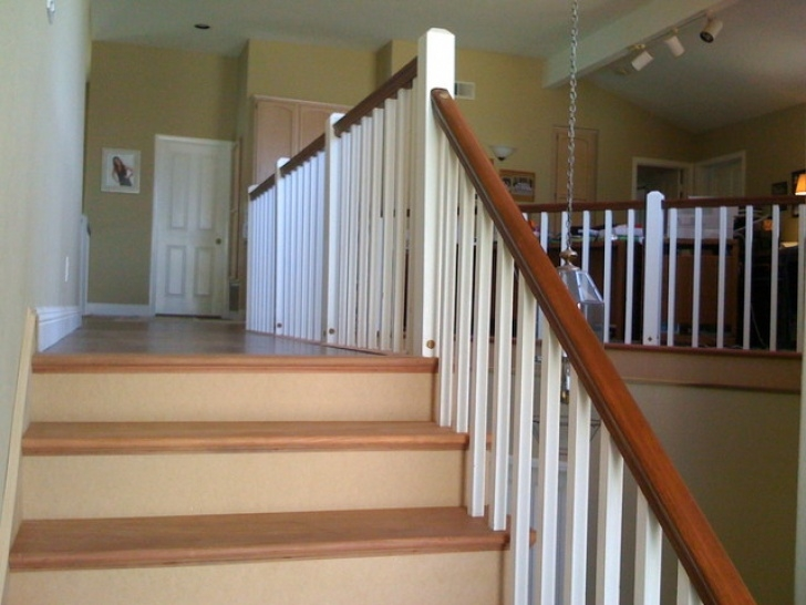 Simple Staircase Designs Simple Craftsman Style Staircase - Craftsman - Staircase Picture 742