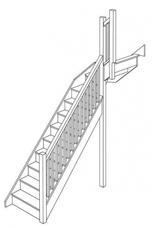 Small Stairs Drawing Staircase Design & Stair Ideas, Wooden Staircase Designers Uk Picture 390