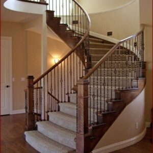 Spiral Staircase And Handrails Design Ideas