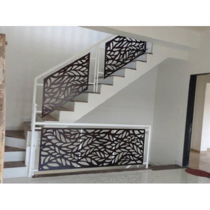 Stair Grill Mild Steel Grill - Mild Steel Stairs Grill Manufacturer Photo 977